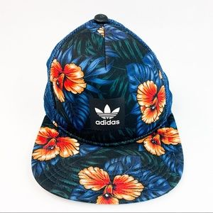 Adidas Flower Trucker Mesh Hat